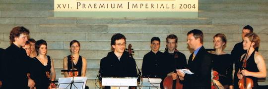 Junges klangforum mitte europa praemium imperiale for Praemium imperiale